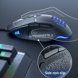 Gaming-Mouse Wired for Big Hands