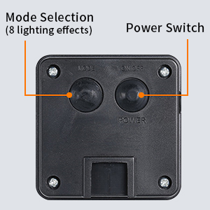 2 Switches for Power and Mode Selection