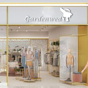 gardenwed chiffon floral summer wedding guest midi flowy dresses for women plus size boho dress 2021