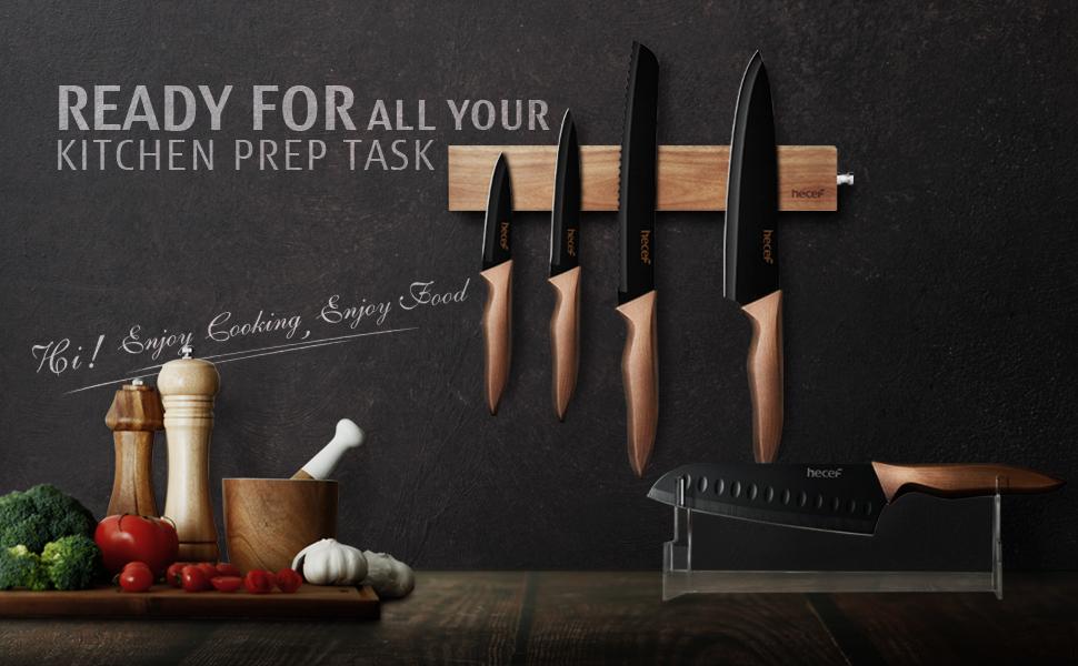 retro knife set