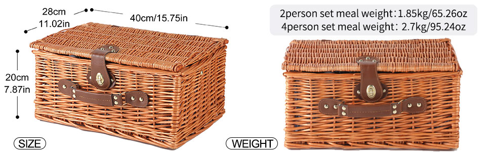 The whole wicker is woven, very precise and strong