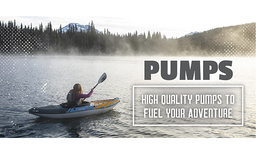 Pumps. High Quality Pumps to Fuel your Adventure