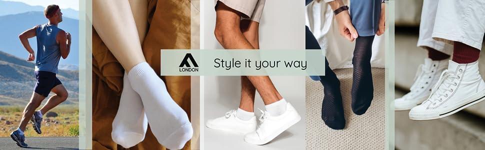 FM London, Socks, Style it your way