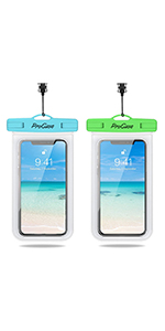 Waterproof Phone Pouch 2 Pack