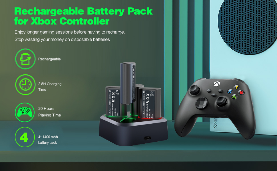 Xbox one controller akku
