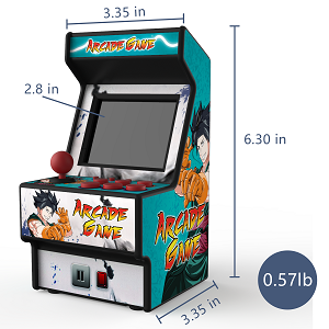 Arcade game machine-Two styles for choice