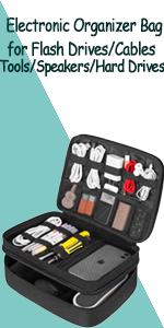 cable organizer case cord organizer case