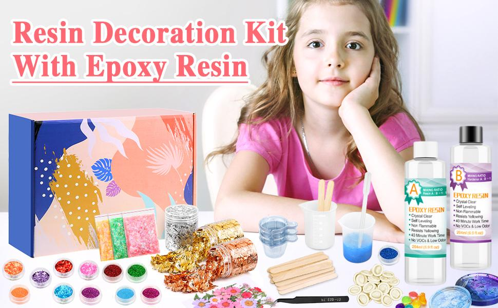 Resin Decoration Kit