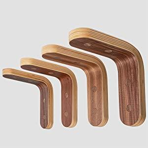 walnut wood shelf brackets