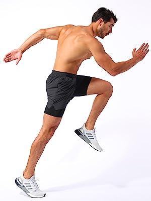 mens running shorts 5 inches