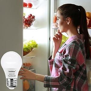 2-pack refrigerator light bulb 5000k daylight white