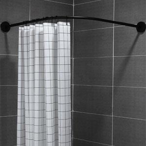 black shower rings