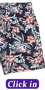 Menamp;#39;s printed swimming trunks