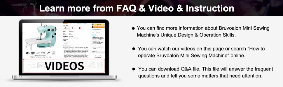 Learn more from FAQ amp; Video amp; Instruction