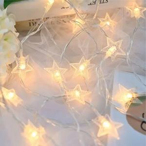 19 FT Star String Lights