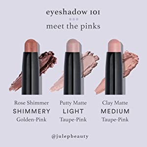 Eyeshadow 101 Pinks