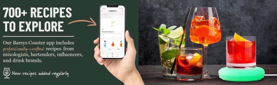 Over 700 cocktail recipes. Comprehensive digital mixologist cocktail book.