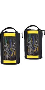 Canvas Zipper Tool Pouch Zipper Bag -Fastener bag