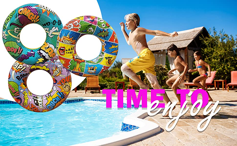 inflatables balls rings tube pool summer beach outdoor hammock Sprinkler pad Splash swimming