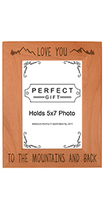 Love You to the Mountains Frame
