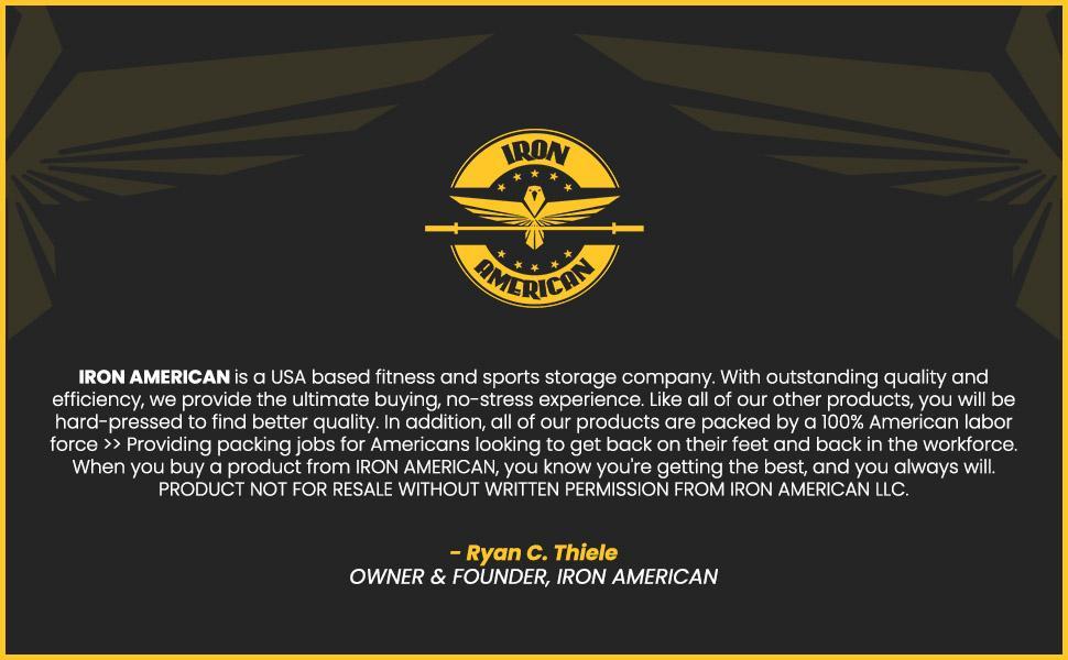banner 5Iron American