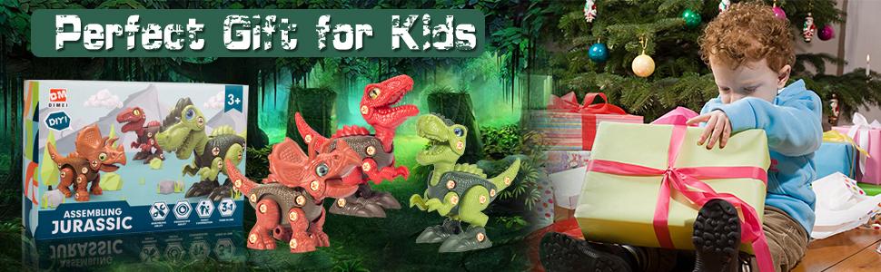 take apart dinosaur toys for kids 3-5 5-7 year old boys girls kids birthday gifts