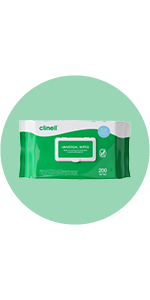 BCW200 CLINELL UNIVERSAL WIPES