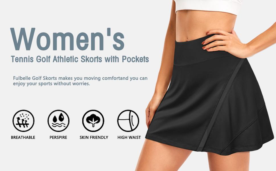 Fulbelle skorts skirts for women