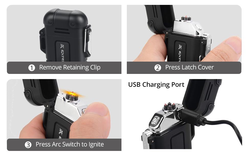 Extremus Weatherproof Lighter