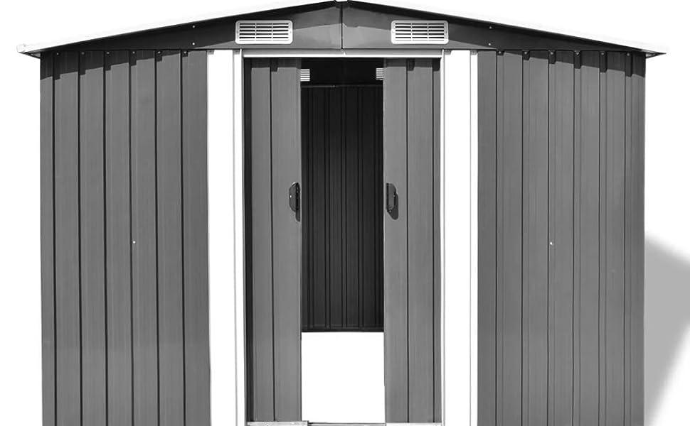 Polypropylene tool shed box