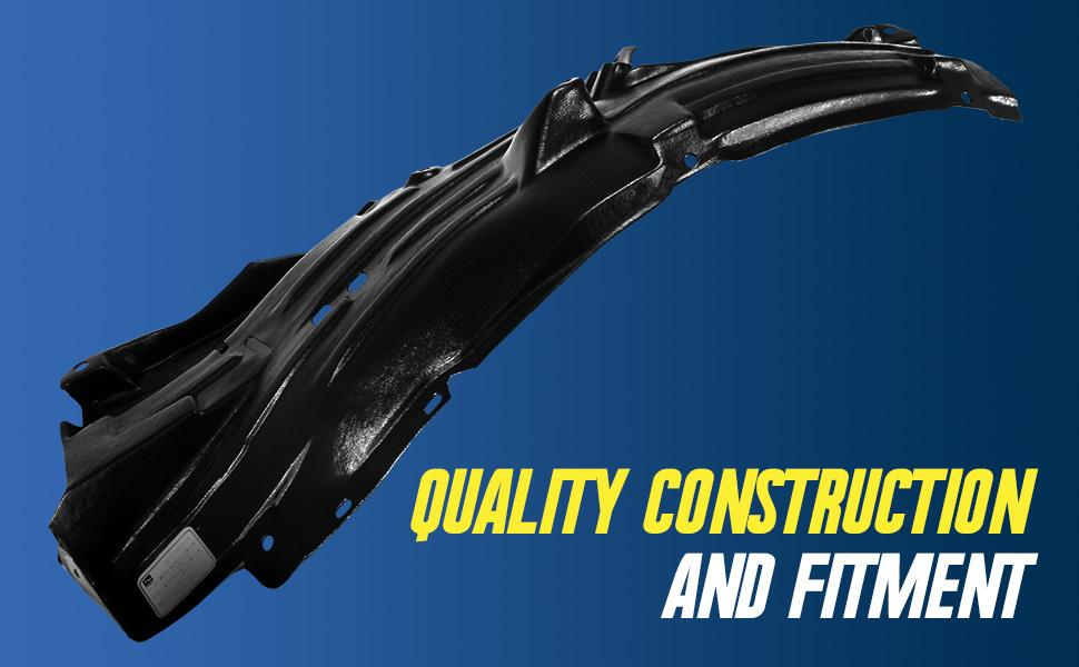direct fit fender liners