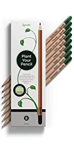 plantable colored pencils