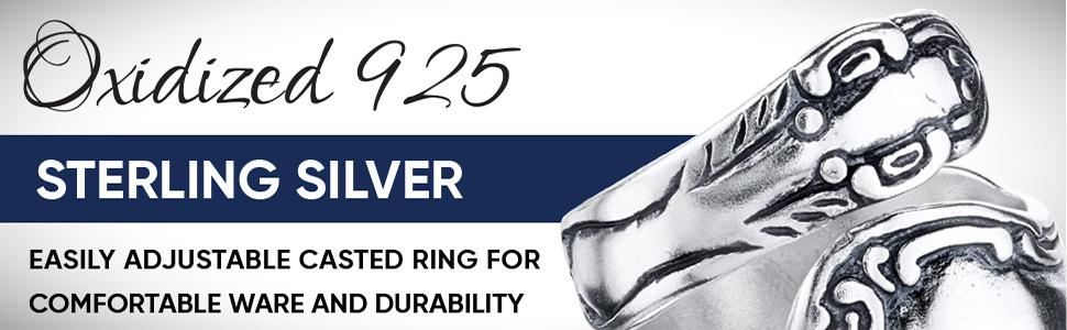 Elegante Sterling Silver A+ Design