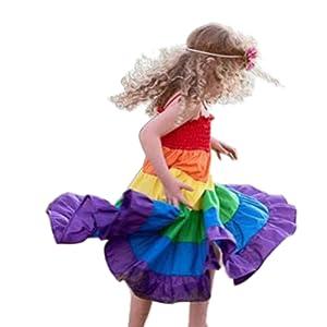 multicolor tutu skirt sundress