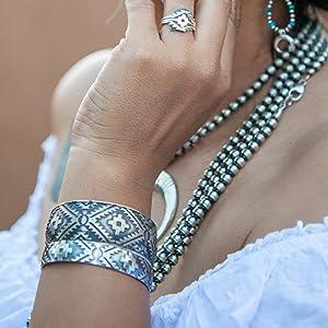 skyweaver turquoise skies luxury southwest jewelry