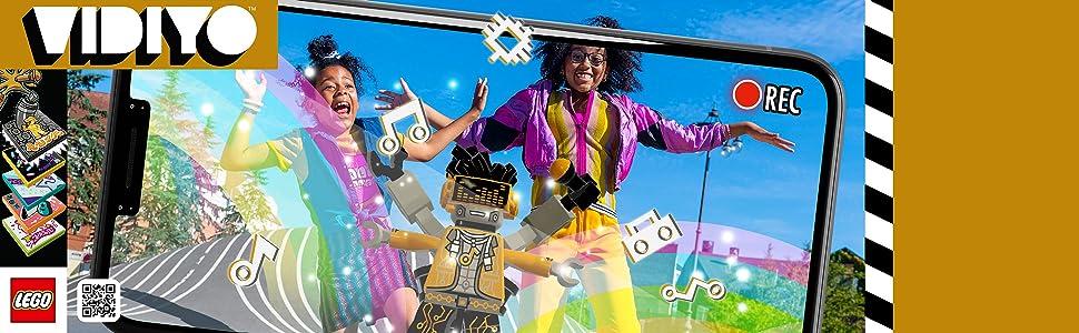 Lego Vidiyo Hiphop Robot Beatbox - Screen play