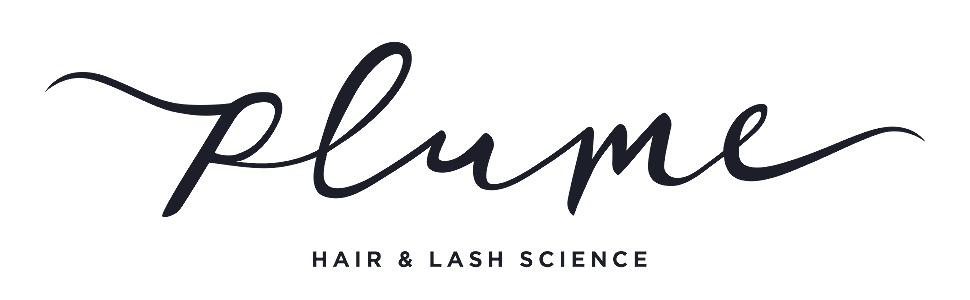 Plume Hair and Lash Science Logo