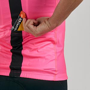 Women's Cycling Jersey with Pockets