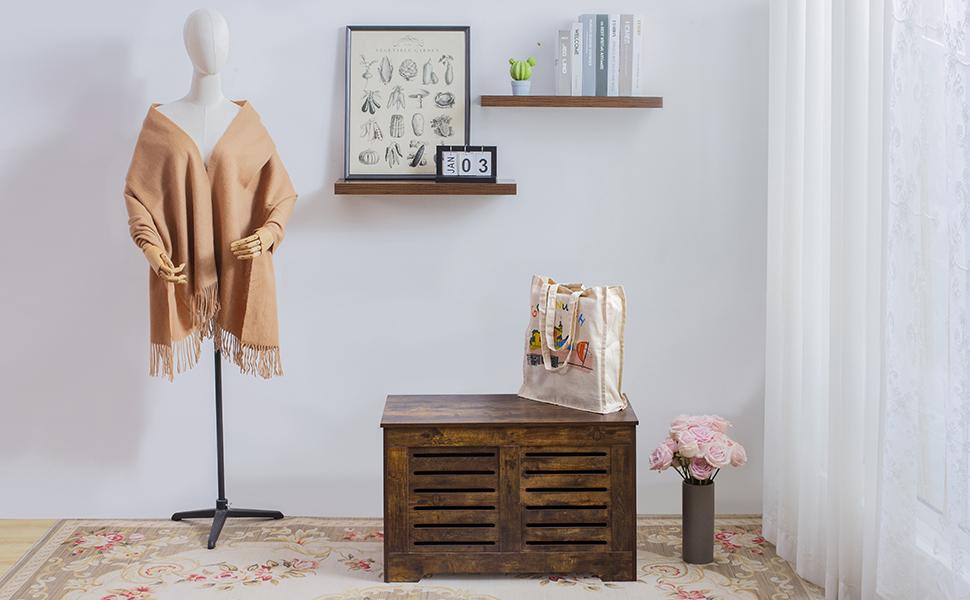 storage chest, shoe bench