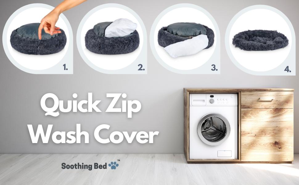 Quick Zip Wash Cover