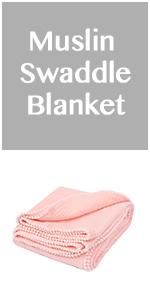 muslin cotton baby blanket
