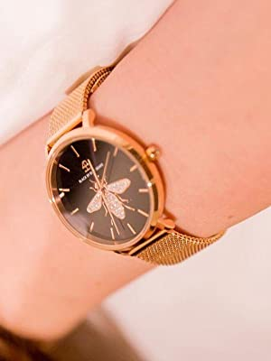LADIES WATCHES BLACK FACE BLINGBLING