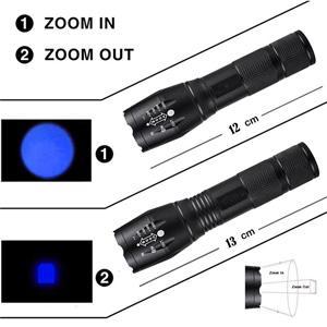 flashlight size