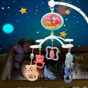 projector crib mobile