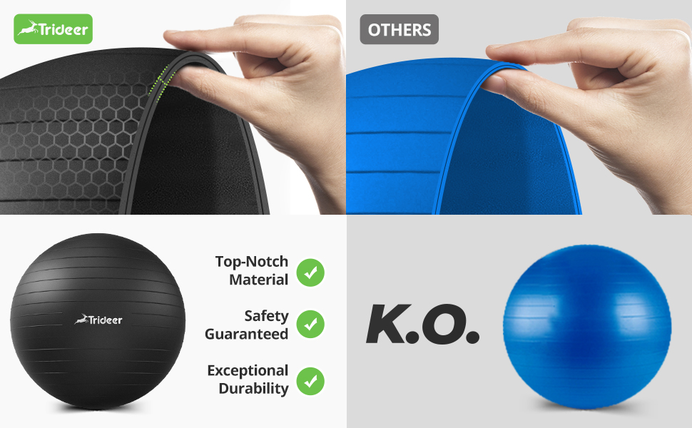 top notch material, safety guaranteed, exceptional durability