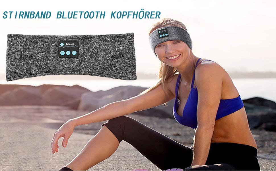 Stirnband Bluetooth Kopfhörer