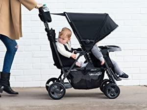 caboose too ultralight tandem double stroller