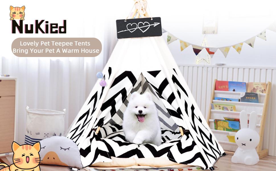 Pet Teepee Tents