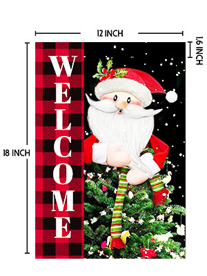 christmas flags for outdoors