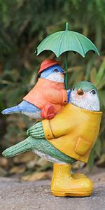 bird garden statues